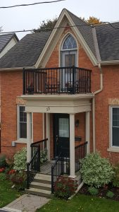 2 storey porch