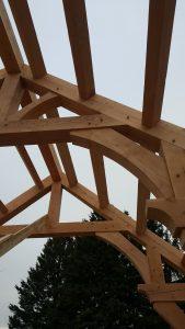 timberframe building